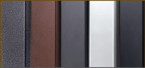 Fireplace Door Finishes